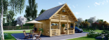 La casa LIVINGTON 44 mm, 50 m² visualization 1