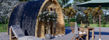 Caseta de jardín de madera BRETA (28 mm), 3x3 m, 9 m² visualization 7
