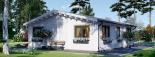 Casa de madera para vivir ALICE (44+44 mm, aislada PLUS), 72 m² visualization 6