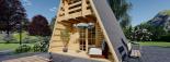 Caseta de madera TIPI, 4.5x7 m, 23 m² visualization 8