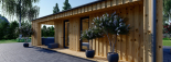 Casa de jardín ANNA SCANDINAVIA (44 mm + revestimiento) , 37 m² visualization 9