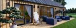 Casa de madera ADA (44 mm + revestimiento), 50 m² visualization 10