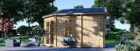 Caseta de jardín KIM 15 m² (5x3) 44 mm visualization 4
