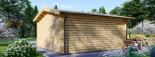 Cabaña de madera para jardín DREUX (44 mm), 5x5 m, 25 m² visualization 4