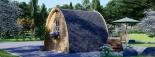 Caseta de jardín de madera BRETA (28 mm), 3x3 m, 9 m² visualization 3