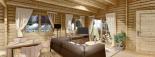 Casa de madera para vivir LINDA (44+44 mm, aislada PLUS), 78 m² visualization 10