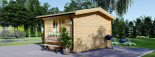 Caseta de madera para jardín DREUX (66 mm), 4x4 m, 16 m² visualization 3