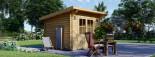 Caseta de jardín de madera MALTA (34 mm), 3x3 m, 9 m² visualization 4