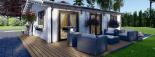 Casa de madera para vivir ALICE (44+44 mm, aislada PLUS), 72 m² visualization 9
