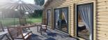 Casa de madera GRETA 44+44 mm, 54 m² visualization 10