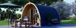 Caseta de madera para jardín BRETA (28 mm), 3x5 m, 15 m² visualization 6