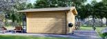 Caseta de madera para jardín PALMA (34 mm), 4x4 m, 16 m² visualization 5