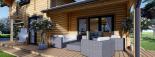 Casa de madera HOLLAND (66 mm), 105 m² visualization 10