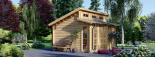 Caseta de jardín ALABAMA 20 m² (4,5x4,5) 44 mm visualization 6