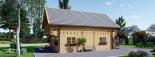La casa LANGON 44+44 mm, 107m² visualization 3