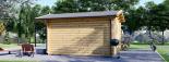 Caseta de jardín de madera PETER (34 mm), 3x3 m, 9 m² visualization 5