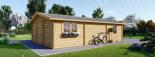 Garaje de madera 600x900 44 mm 54 m² visualization 7
