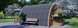 Caseta de madera para jardín BRETA (28 mm), 3x5 m, 15 m² visualization 4
