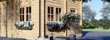Casa de madera para jardín AVIGNON (44 mm), 20 m² de dos plantas visualization 7