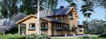 Casa de madera HOLLAND (66 mm), 105 m² visualization 5