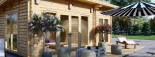 Caseta de madera MAJA (66 mm), 7.5x4 m, 30 m² visualization 8