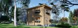 Casa de jardín AVIGNON de tejado plano (44 mm), 20 m² de dos plantas visualization 4