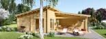 La casa BERTA de tejado plano 105 m² 66 mm visualization 6