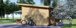 Caseta de madera MAJA (66 mm), 7.5x4 m, 30 m² visualization 5