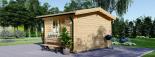 Caseta de madera DREUX (44 mm), 4x4 m, 16 m² visualization 3