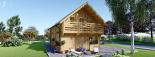 La casa LANGON 44+44 mm, 107m² visualization 4