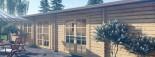 Casa de madera JULIA (66 mm), 103 m² visualization 10