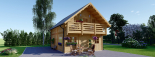 La casa LANGON 44+44 mm, 107m² visualization 2