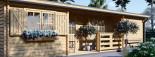 Casa de madera UZES (44 mm), 70 m² visualization 7