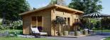 Caseta de madera MAJA (66 mm), 7.5x4 m, 30 m² visualization 7
