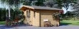 Caseta de madera para jardín BENINGTON (34 mm), 4,5x3 m, 13 m² visualization 5