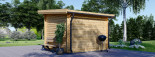 Caseta de jardín de madera MALTA (34 mm), 3x3 m, 9 m² visualization 6