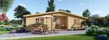 La casa FILL 44 mm, 60 m² visualization 1
