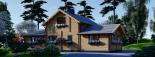 Casa de madera HOLLAND (66 mm), 105 m² visualization 7