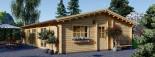 Casa de madera JULIA (66 mm), 103 m² visualization 8