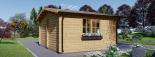 Caseta de jardin LILLE 12 m² (4x3) 34 mm visualization 5