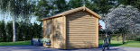 Caseta de jardín KIM 15 m² (5x3) 44 mm visualization 5