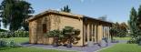 Casa de madera para jardín MARINA (44 mm), 48 m² visualization 4