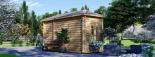 Caseta de jardín KIM 15 m² (5x3) 44 mm visualization 7