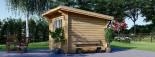 Caseta de jardín de madera MALTA (34 mm), 3x3 m, 9 m² visualization 7