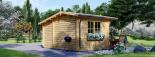 Caseta de madera para jardín BENINGTON (34 mm), 4,5x3 m, 13 m² visualization 3