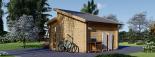 Caseta de jardín ALABAMA 20 m² (4,5x4,5) 44 mm visualization 3