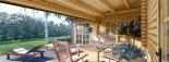 Casa de madera BERTA (66 mm), 72 m² + garaje 20 m² visualization 10