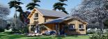 Casa de madera HOLLAND (66 mm), 105 m² visualization 4