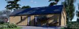 Casa de madera ADA (44 mm + revestimiento), 50 m² visualization 9