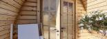 Caseta de madera BRETA (28 mm), 3x6 m, 18 m² visualization 7